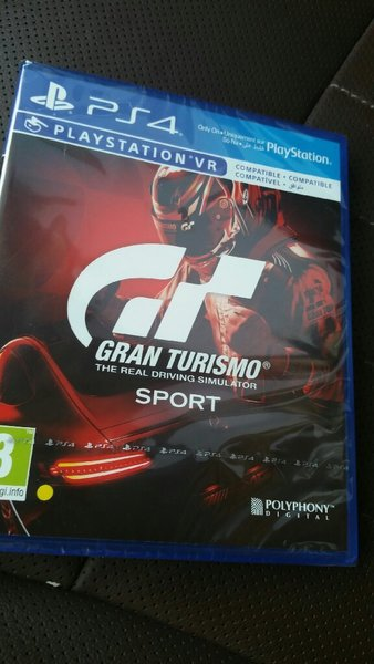 Used PS4 Grand Turismo Sport SEALED in Dubai, UAE