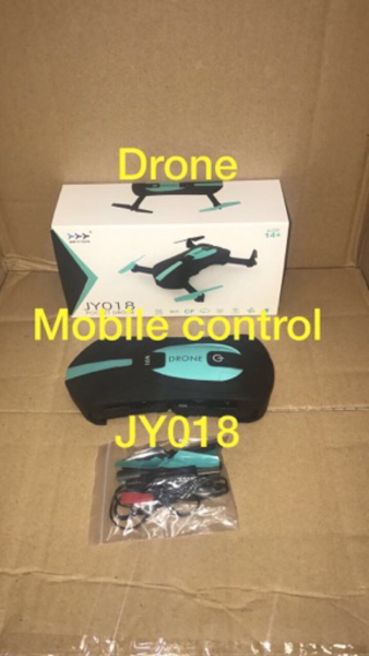 Drone camera with phone control