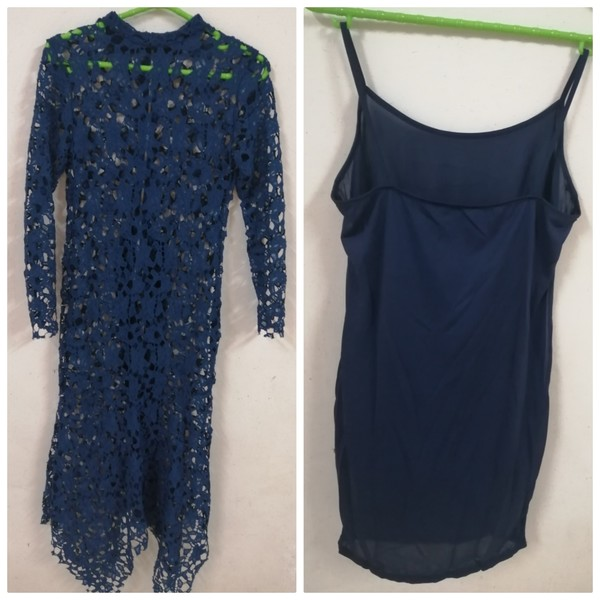 Used Women Lace Dress set of 2 pcs in Dubai, UAE
