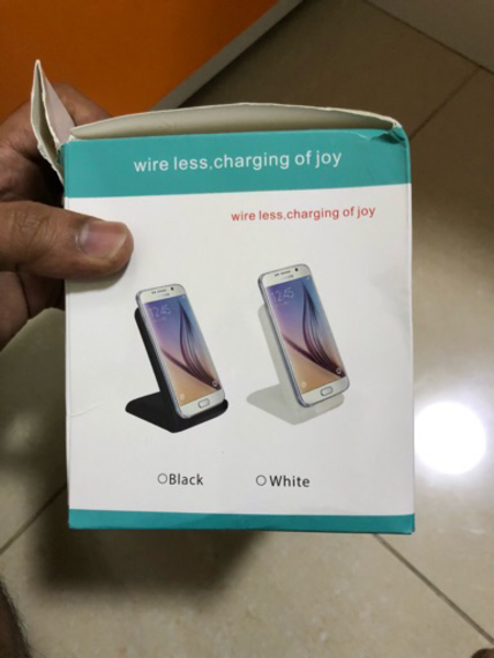 Used Wireless charger with dual coil in Dubai, UAE