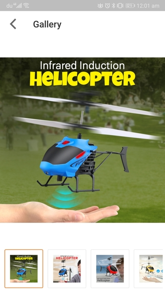 Used New infrared flying helicopter toy in Dubai, UAE