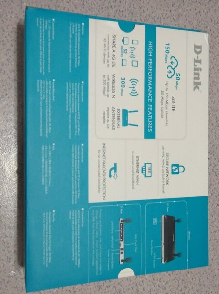 Used D-Link wifi 4g router in Dubai, UAE