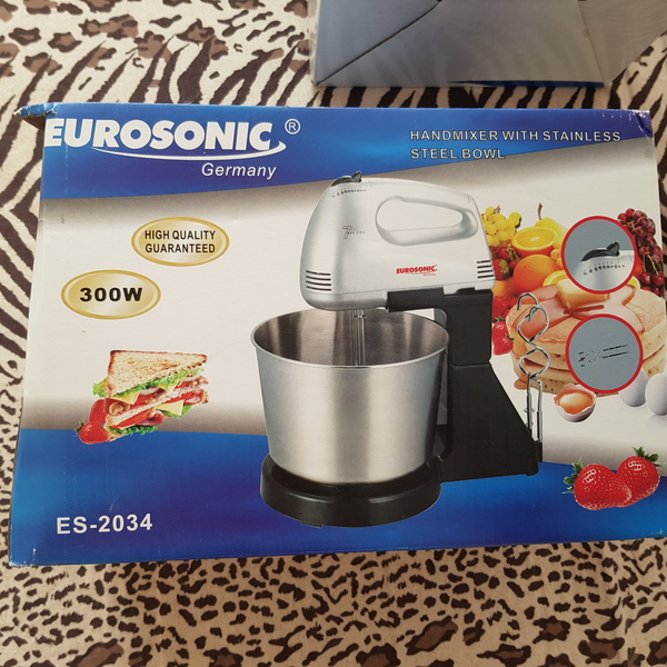 Used Electric mixer with bowl new in Dubai, UAE