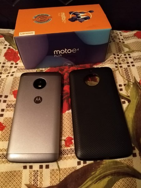 Used Moto E4 Plus with Box (4G LTE Dual Sim) in Dubai, UAE