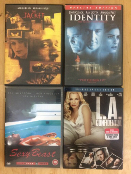 8xDVD Collection: Horror/Thriller/Crime