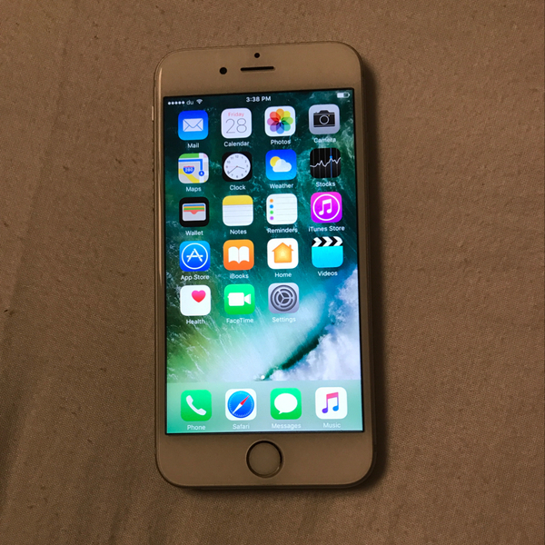 Used Iphone 6s, 16gb, Silver, No Single Scratch. Final Price. Serious Buyer Only.. in Dubai, UAE