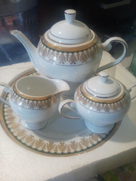 Used Windcera Fine Porcelain Tea Set-24 pcs in Dubai, UAE