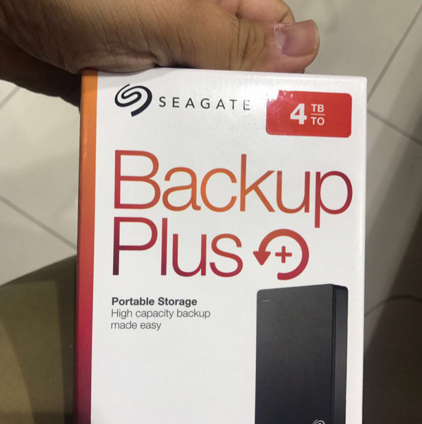 Used Seagate 4TB External Hard Drive Brand New in Dubai, UAE