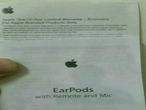 2 PC Original Apple Earpod with remote and mic