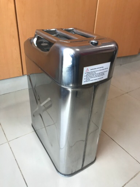 Used Stainless Steel Jerrycan  in Dubai, UAE