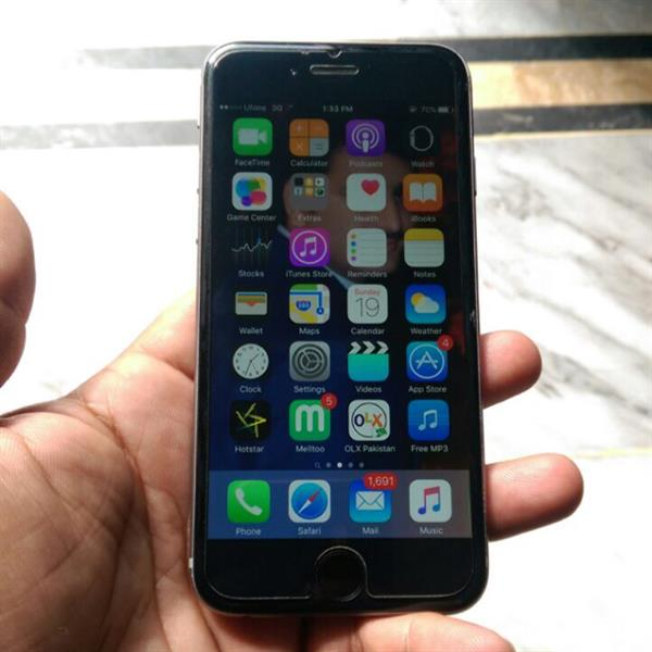 Used Iphone 6,  64 gb 12months used with chrgr nd case cover orgnl in Dubai, UAE