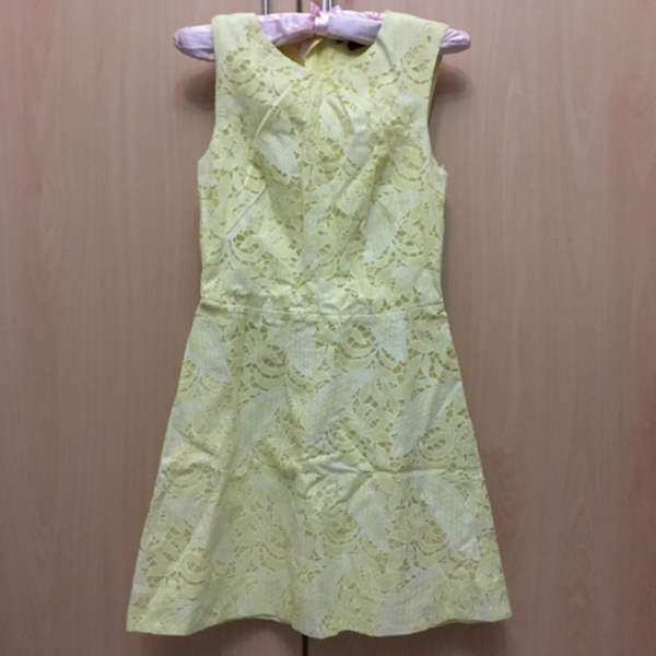 Used H&M yellow dress in Dubai, UAE