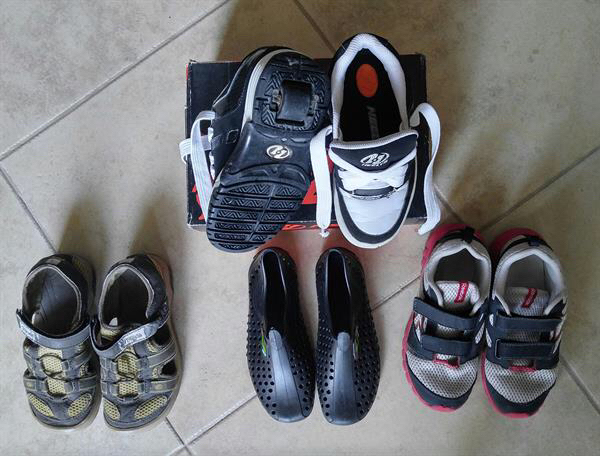 Used Boy's shoes Size 32-33 in Dubai, UAE