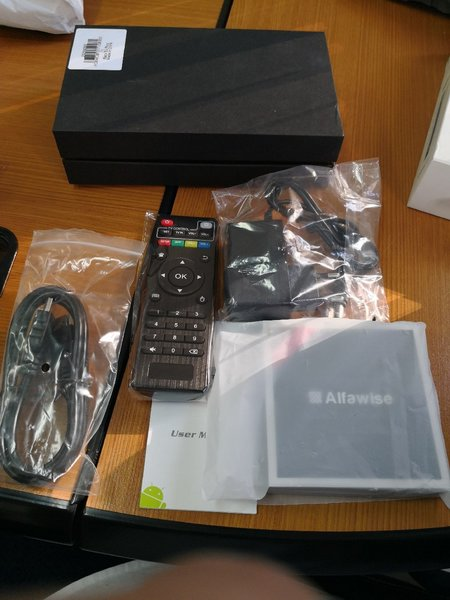 Alfawise H96 Mini TV Box 4K