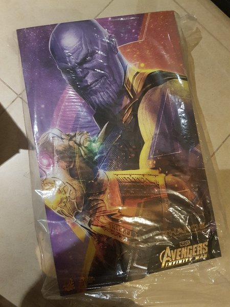 Used Hot Toys Thanos  1/6 scale infinity war in Dubai, UAE