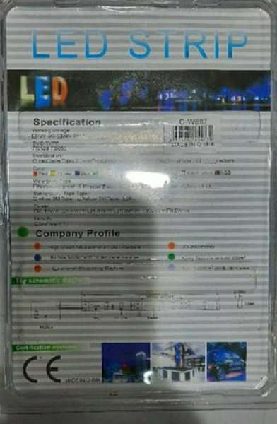 Used Led light with remote control color chan in Dubai, UAE