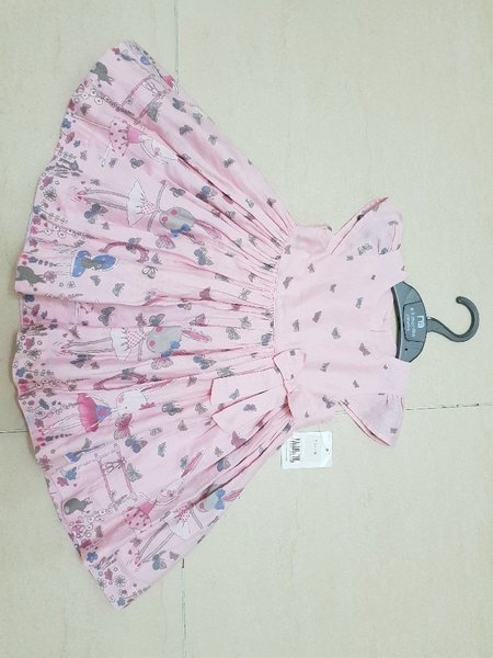 Used New cute Mothercare dress 6to9 months in Dubai, UAE