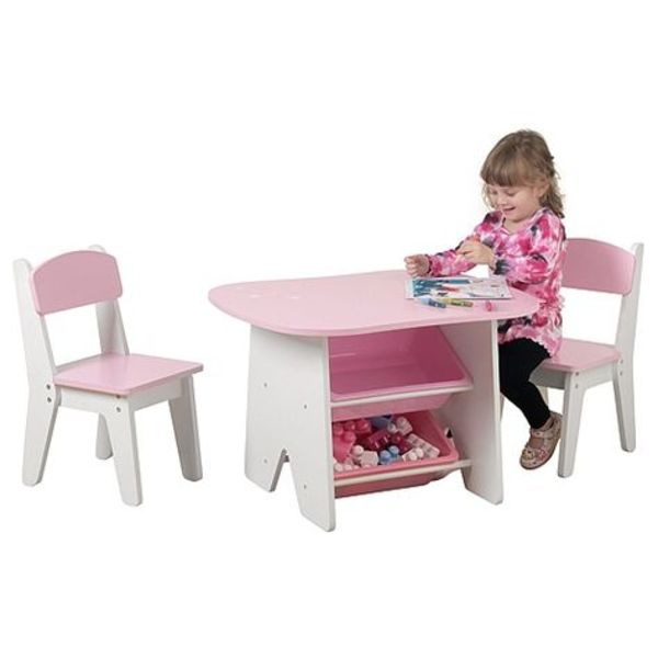 Used Imaginarium Table & Chairs (pink) in Dubai, UAE