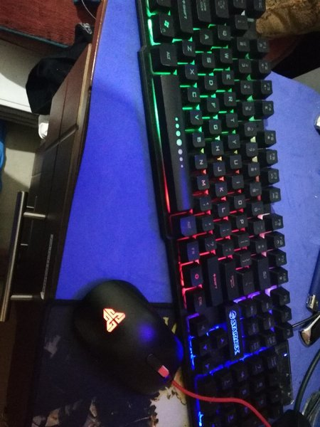 Used RGB light keyboard and mouse in Dubai, UAE