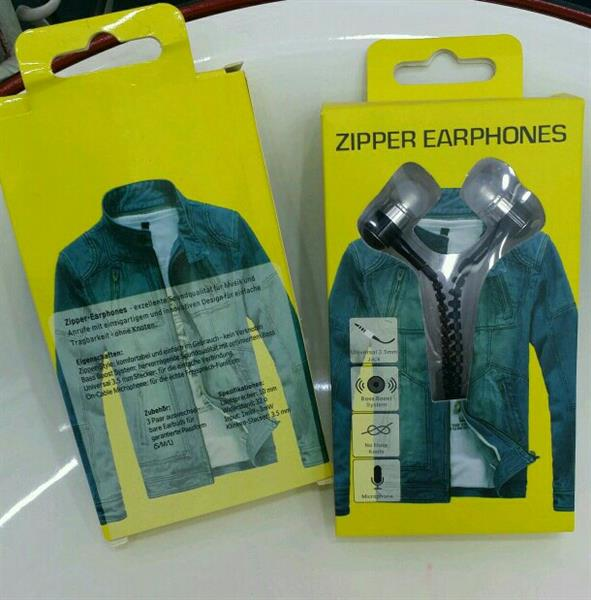 Used Zipper Earphone With Mic For Android in Dubai, UAE