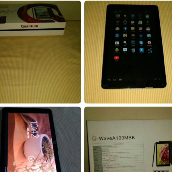 Used Quantum Tablet (With Original Packaging) in Dubai, UAE