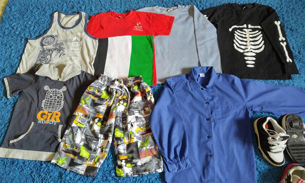 Used Boys Clothing For 7-8years in Dubai, UAE