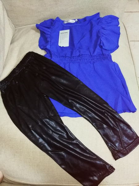 Used 3 dresses for baby girls size 110/120 in Dubai, UAE
