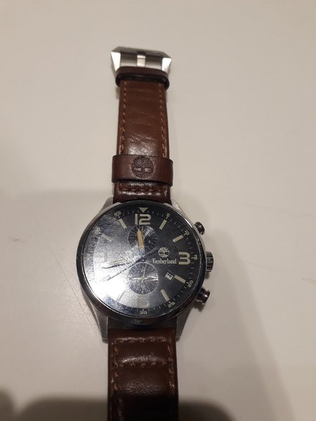Used Timberland watch for mens (1 month used) in Dubai, UAE