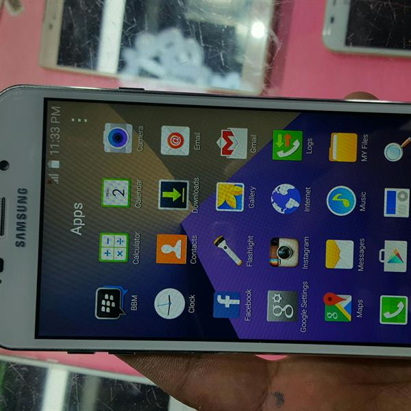 Used Samsung J9 (6) Brand New Only Open Box Check Mobile With All Accesories First Copy in Dubai, UAE