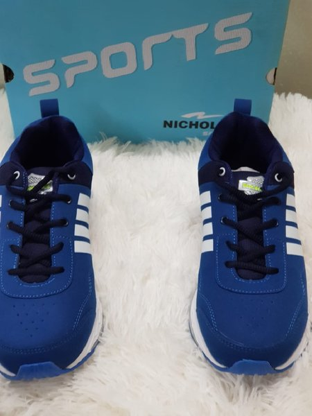 Used 42 size blue spots shoes in Dubai, UAE