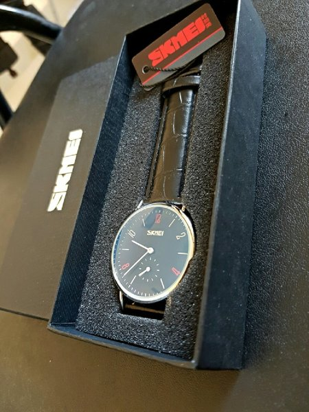 Used Genuine Leather Watch ~ Both dial Works in Dubai, UAE
