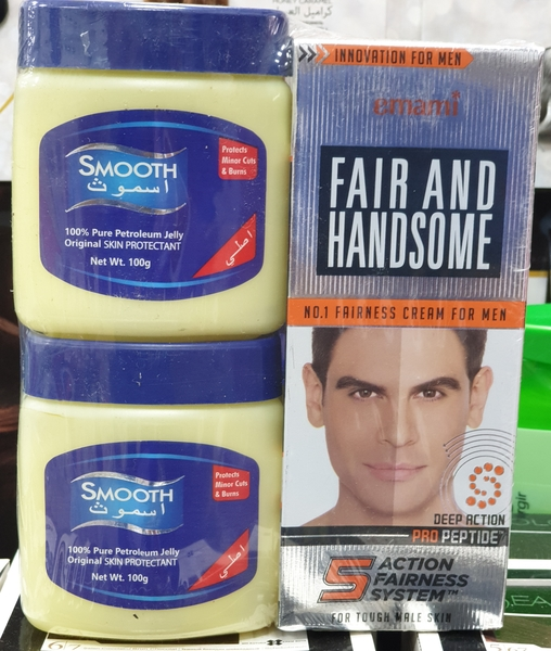 Used FAIR AND HANDSOME gift pack in Dubai, UAE