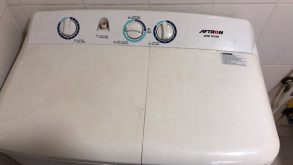 Used Washing machine Aftron semi automatic  in Dubai, UAE