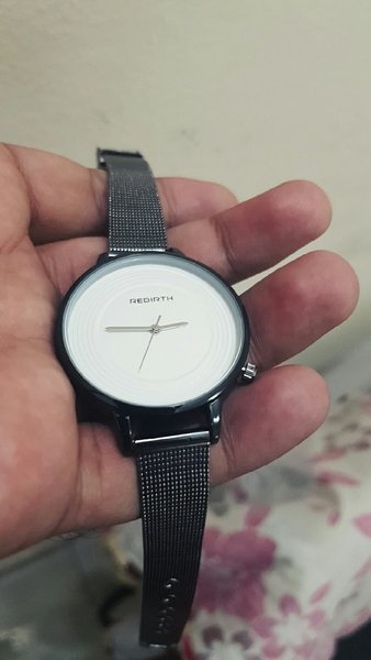 Used REBIRTH Mesh Steel Ladies Watch, New in Dubai, UAE