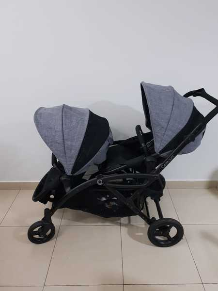 Used New Twin baby stroller...Contours Brand in Dubai, UAE