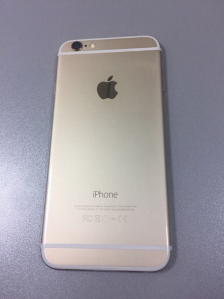 iPhone 6 128gb Gold color