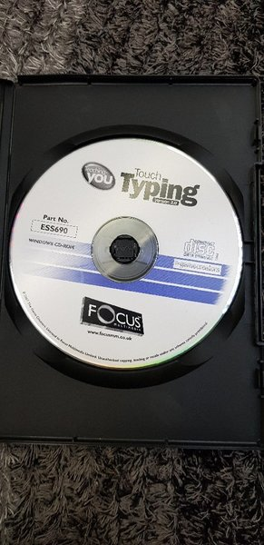 Used Touch Typing Learning CD-ROM for PC in Dubai, UAE