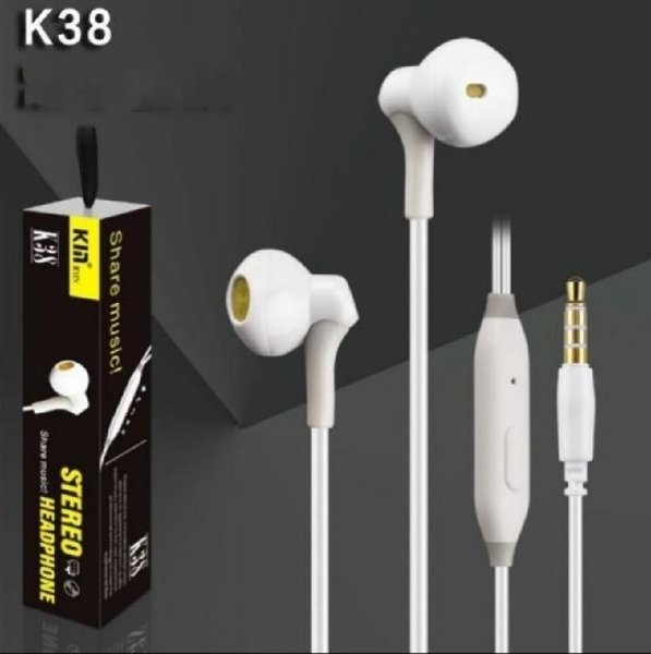 Used 3Pcs Bass Stereo Earphones White color in Dubai, UAE
