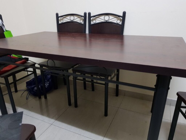 Used Dinning table 6 seaters-new in Dubai, UAE