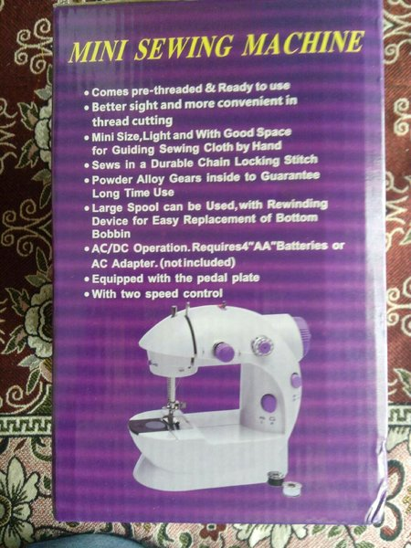 Used Mini sewing machine at lowest price in Dubai, UAE