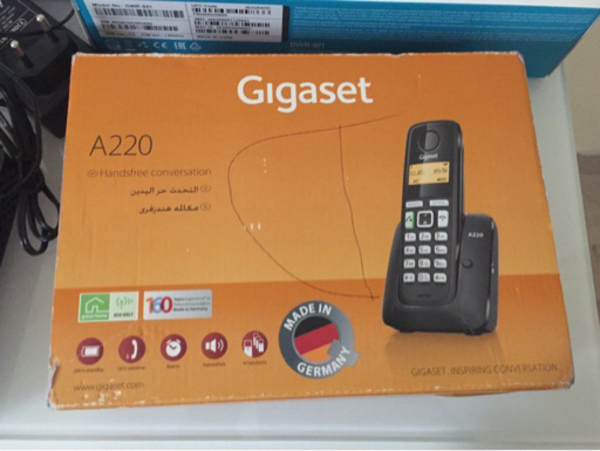 Used Gigaset cordless for sale  in Dubai, UAE