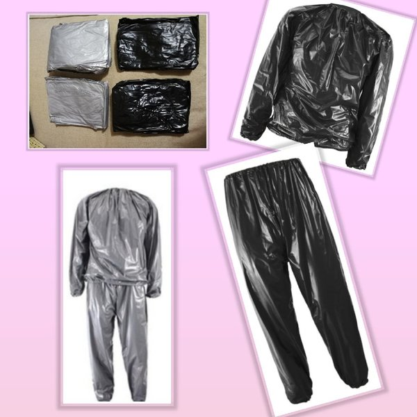 Used 2 New sauna suits sets (buy 1 get 1) in Dubai, UAE