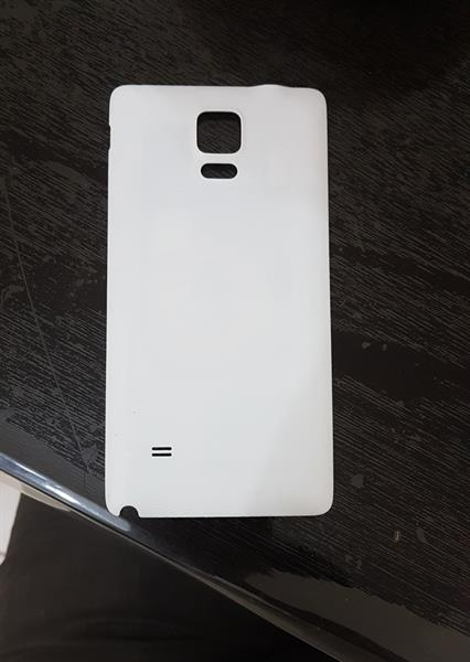 Used Note 4 Back Cover With Wireless Charge Receiver in Dubai, UAE