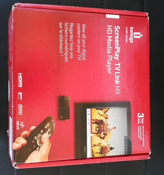 Used SCREEN PLAY TV LINK MX I OMEGA HD PLAYER in Dubai, UAE