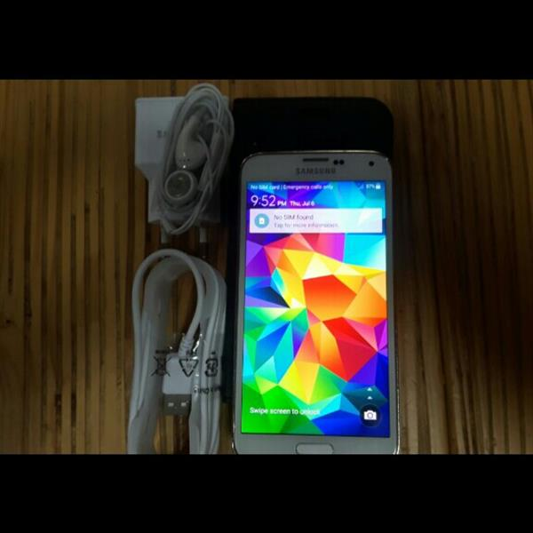 Used Samsung S5 . 2GB Ram 16 GB Storage. With Orignal Charger Data Cable And Headphones. Condition 10/10 in Dubai, UAE