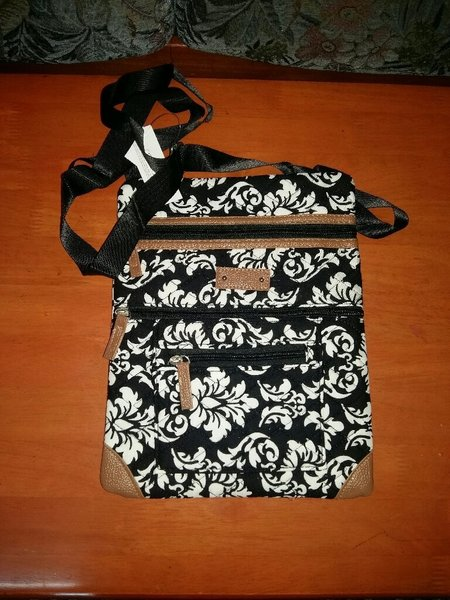 Used Quilted Cotton Sling Bag in Dubai, UAE