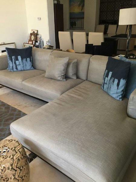 Used L shaped couch from Indigo living in Dubai, UAE