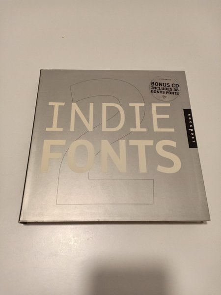Used Indiefonts by Rockport Book 2 with CD in Dubai, UAE