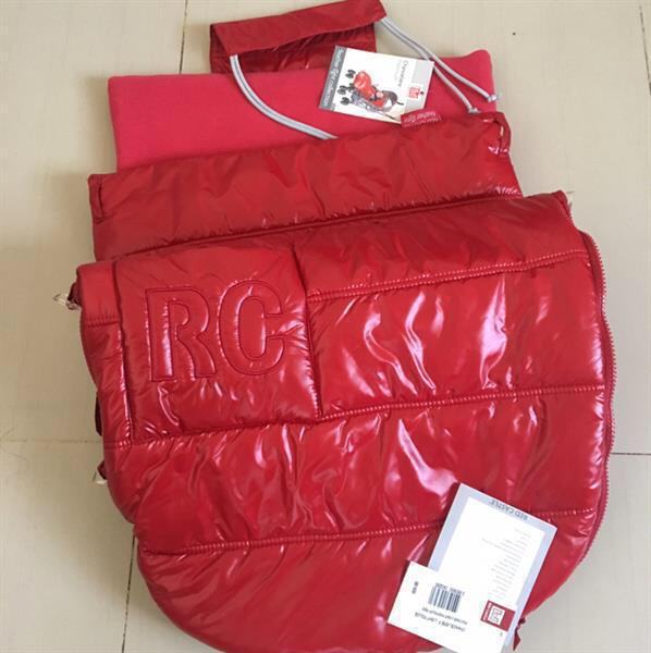 Used Stroller Sleeping Bag. Red Castle Footmuff in Dubai, UAE