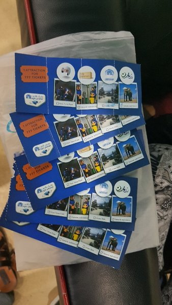Used 5 Ski Dubai vouchers/ 4 months validity! in Dubai, UAE